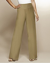 Petite Wide Leg Trousers 25in