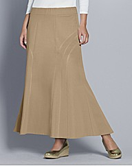 Top to Toe Panelled Maxi Skirt 35in