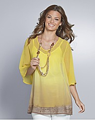 Top to Toe Ombre Blouse