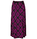Print Jersey Skirt 27in
