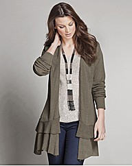 Top to Toe Frill Hem Cardigan