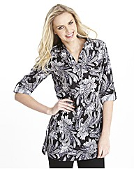 Paisley Print Blouse 31in