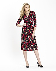 Print Mix and Match Jersey Dress 41in