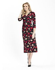 Print Mix and Match Jersey Dress 45in