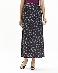 Print Jersey Skirt 33in