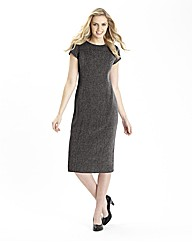 Tweed Mix and Match Tailored Dress 41in
