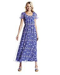 Print Maxi Dress 52in