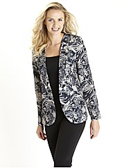 Print Tailored Jacket