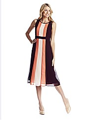 Colour Block Dress 41in