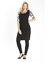 Jersey Tunic Dress 33in