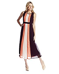 Colour Block Dress 45in