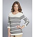 Top to Toe Stripe Jumper