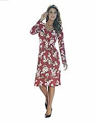 Floral Print Jersey Dress