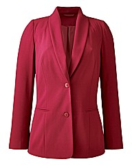 Crepe Tailored Jacket