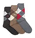 Mens Pringle Socks Pack of 3