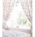 Camelia Bedroom Range Lined Curtains
