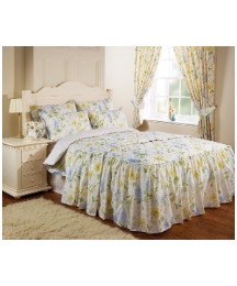 Lucie Bedroom Range Curtains & Tiebacks