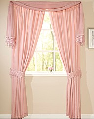 Elena Lined Voile Range Curtains