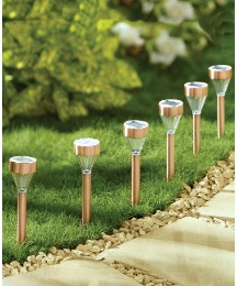 Diamond Solar Light Pack of 6