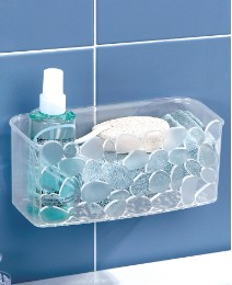 Pebbles Storage Suction Basket