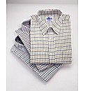 Tattersall Check Shirts Pack of 3