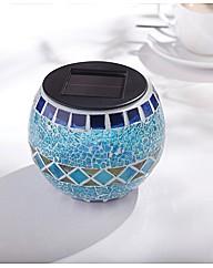 Solar Mosaic Pot