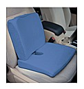 Memory Foam Travel Seat Pad Blue