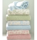 Sculptured Diamond Towels Bath Sheet