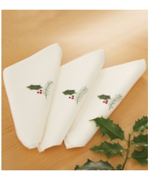 Poinsettia Range Napkins Pack of 4