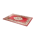 Shensi Wool Carved Rug