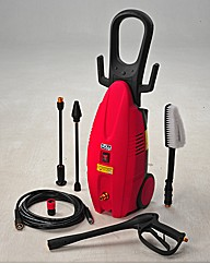 1600W Pressure Washer + Free Accessories
