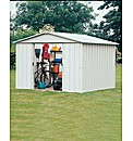 Yardmaster Apex Metal Shed 242cm x 298cm