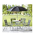Tropical Six Piece Garden Furniture Set