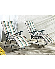 Deluxe Recline Lounger- Buy 1 Get 1 Free