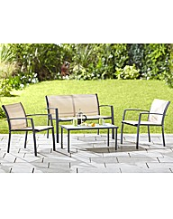 Palma 4 Piece Garden Furniture Set