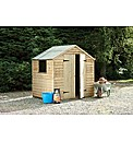 Wooden Overlap Shed 7 x 5