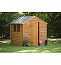 Wooden Overlap Shed 8 x 6