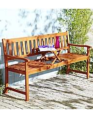 Padstowe Bench with Folding Table