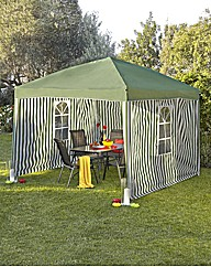 Set of Three 2m Gazebo Walls