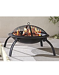 Lima Fire Bowl BBQ and Charcoal Grill