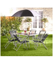 Milano 8 Piece Garden Furniture Set