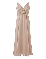 Knot Front Maxi Dress