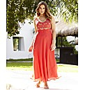 Long Beaded Maxi Dress