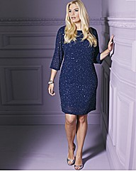 Sequin Embellished Tunic Dress