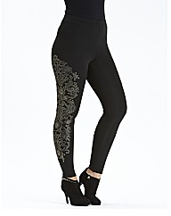 Caviar Beaded Leggings