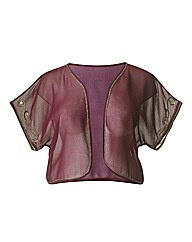 Beaded Sheer Shrug