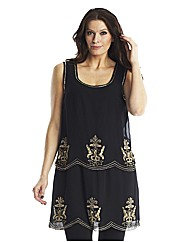 Baroque Flapper Dress