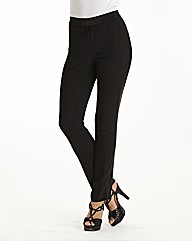 Satin Panel Tuxedo Trousers