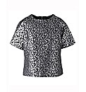 Animal Jacquard Top