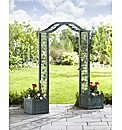 Garden Arch With Planters